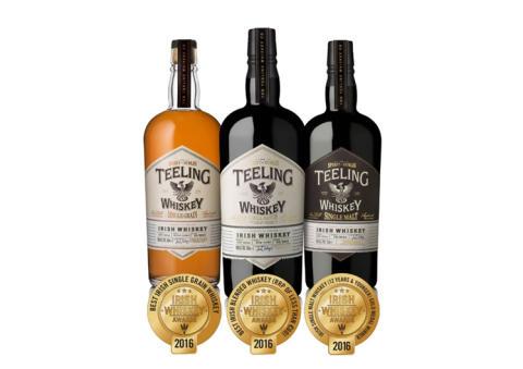 Teeling Whiskey fortsätter att skörda framgångar