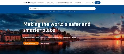 AddSecure launches new visual identity and new website to strengthen the company's brand