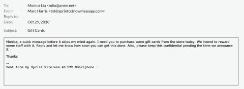 Cyberhot i juletid – nätbedragare fiskar efter presentkort