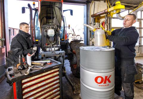 Optimering af smøremidlerne på værkstedet