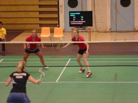 Amanda Wallin, badminton