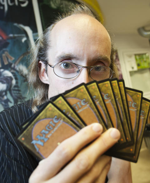 Mystiska kortspelet Magic i fokus på veckans Nördcafé