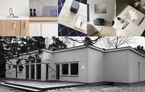 Visningshus Malmö - collage