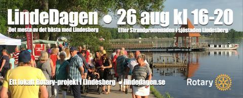 Rotary flyttar LindeDagen 2020 till 26 augusti