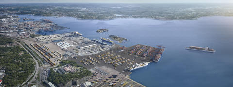 New terminal in Arendal.