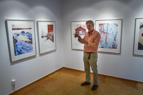 Thomas Rydén ställer ut samlade verk i Lindesberg
