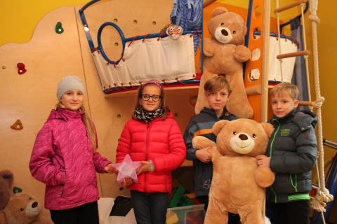 Grundschule Leipzig engagiert sich für das Kinderhospiz Bärenherz