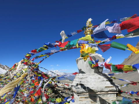 Prayer Flags, Thorong La
