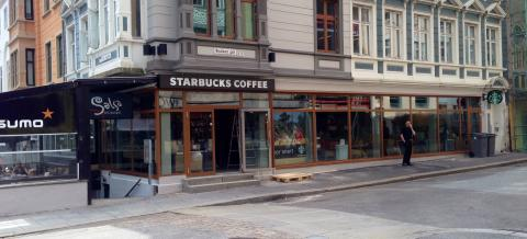 Starbucks Neumanns Gate, Bergen