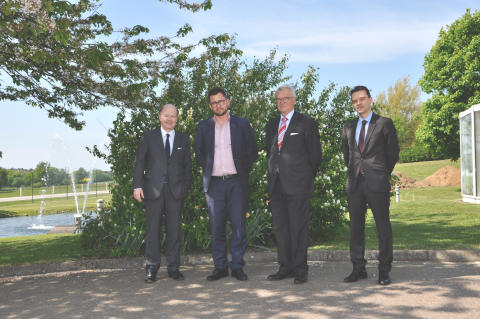 The French Ambassador in Sweden visited Lindab
