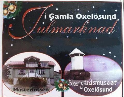 Julmarknad i Gamla Oxelösund