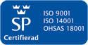 Förenade Care förnyade sin trippelcertifiering inom ISO och OHSAS under oktober månad 2011