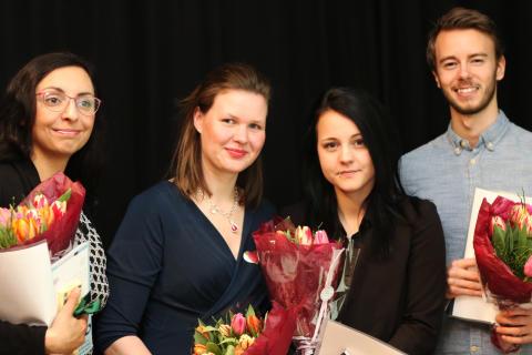 Louise Fransson (Ängelholm) får hedersomnämnande av VRE Education för sin insats inom förskola och skola
