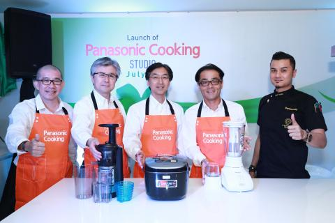 VIPs at Panasonic Cooking Studio (Bangsar, KL)