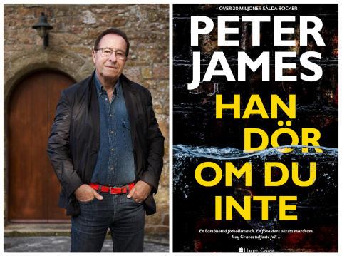 Brittiske deckargiganten Peter James är tillbaka med ett nytt fängslande kriminaldrama!