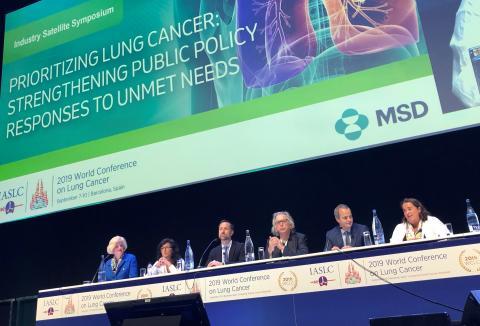 Mycket kvar att göra för lungcancerpatienter i Sverige