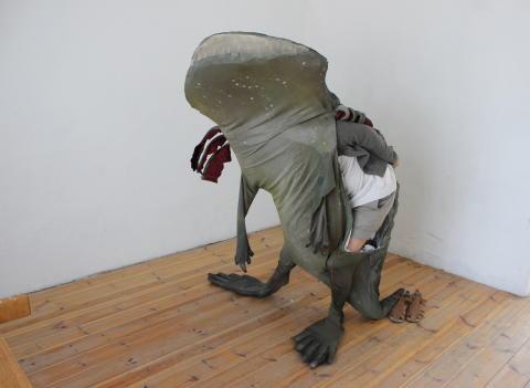 Bjuvstegocefalen av Ingela Ihrman