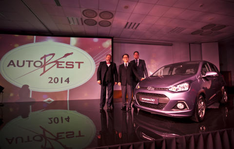 Hyndai i10 tilldelas AUTOBEST 2014-priset