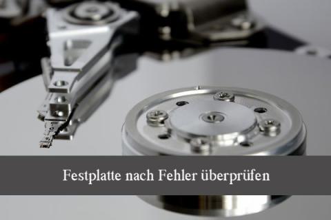 So überprüfen Sie eine Festplatte und reparieren die Fehler - Sicher und Einfach