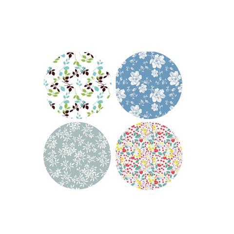 88544-00 Cloth Asta peva round mix box 138 cm 7318161393880