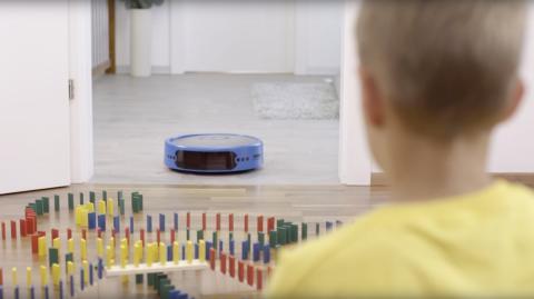 """IFA-Neuheit von Robart: """"Alexa, der Roboter soll das Esszimmer reinigen"""""""