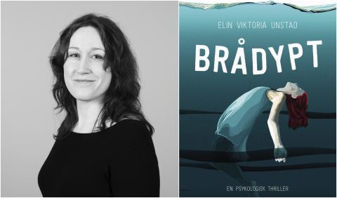 "Tenåringskrim: ""Brådypt""- En ny type psykologisk  thriller"