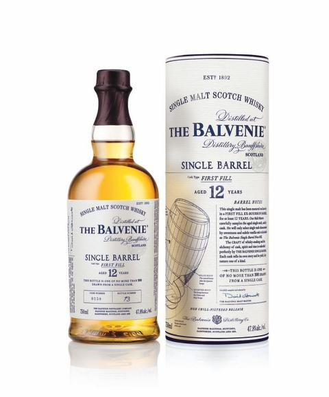 The Balvenie Single Barrel First Fill 12 Year
