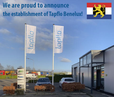 We are proud to announce the establishment of Tapflo Benelux!