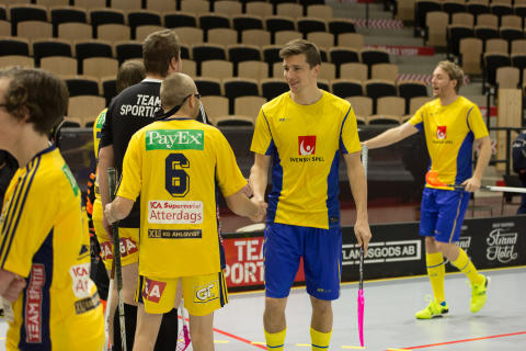 Mattias Samuelsson och John Sandström (nr 6).