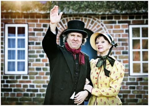 """""""1864 - den sande historie"""" - teaterstykke på Frilandsmuseet af Erling Jepsen"""