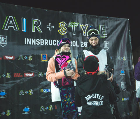 Air+Style Innsbruck 04.02.2017 Marcus Kleveland pall