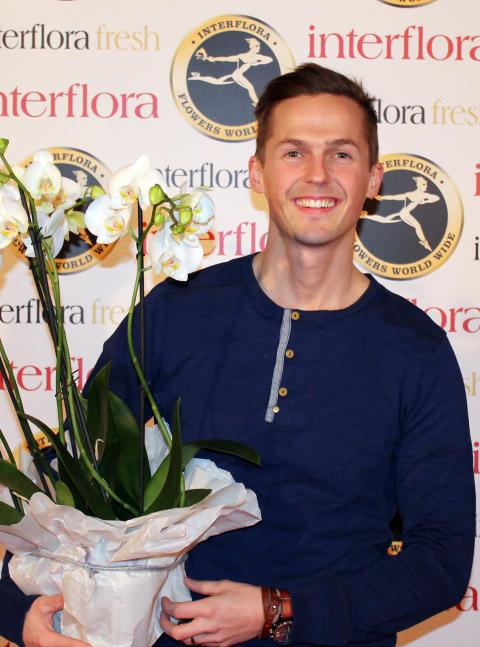 David Lindgren är Månadens gäst på Interflora.se