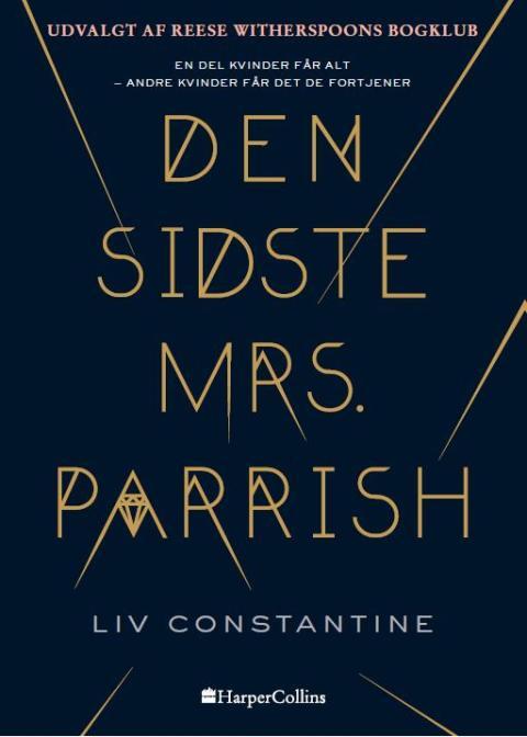 """Udkommer i dag: """"Den sidste mrs. Parrish"""" af Liv Constantine"""