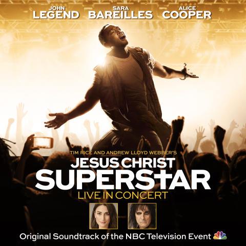 """""""Jesus Christ Superstar Live in Concert"""" - albumomslag"""