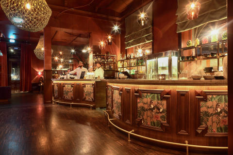Bar at Publico, Stockholm, by Stylt