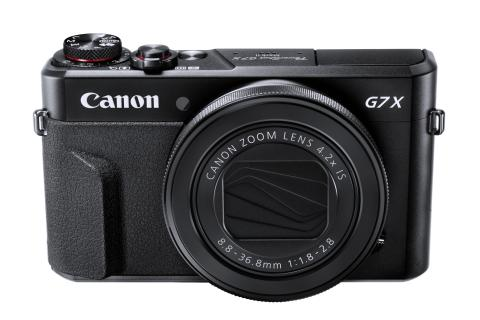 PowerShot G7X MkII Gallery Front WH Beauty