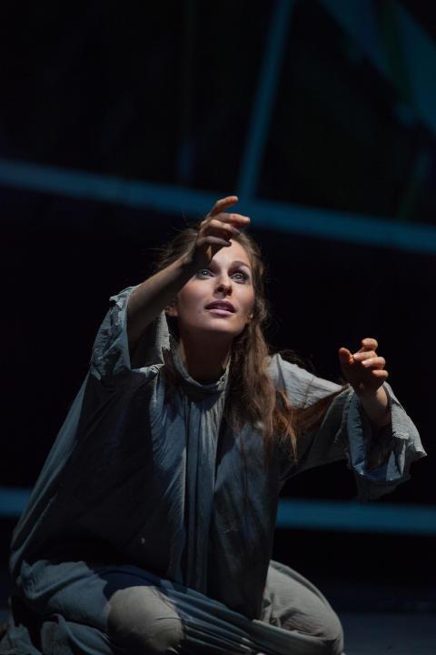 Faust 2017 am Goetheanum: Gretchen im Kerker (Anne-Kathrin Korf)