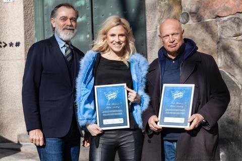 Frida Boisen och Robert Aschberg är Månadens Nätänglar mars 2019