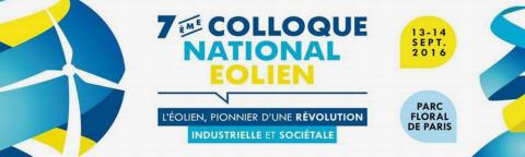 Colloque National Eolien 2016
