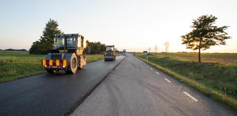Peab Asfalt vinner kontrakt med Trafikverket  i Skåne, Blekinge och Kronoberg
