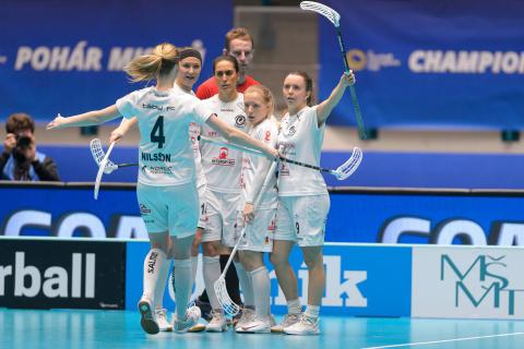 Islossning i tredje gav Täby FC finalplats