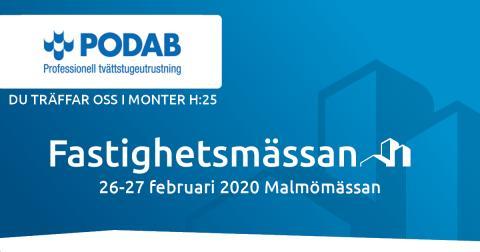 Besök oss på Fastighetsmässan SYD i Malmö