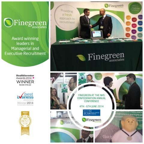 Come and meet the 'Recruiter of the Year 2013 & 2014' at the NHS Confederation Annual Conference 2015