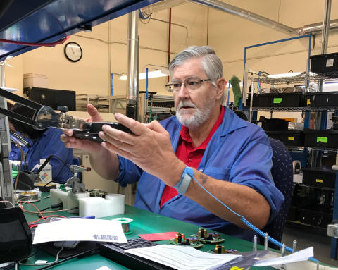 Hi-res image - ACR Electronics - ACR Electronics has upgraded its manufacturing facilities to strengthen and safeguard its in-house production capabilities