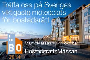 SafeTeam Lås-Borgström på BostadsrättsMässan i Malmö