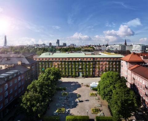 Davidshall, Riksbyggen, Malmö