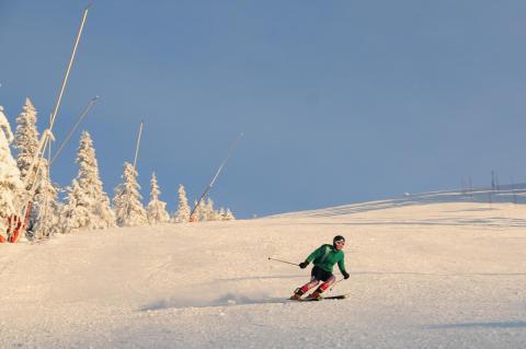 Lindvallen säsongsöppnar för skidåkning till helgen