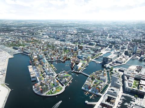 Grönt ljus för översiktsplan för Nyhamnen
