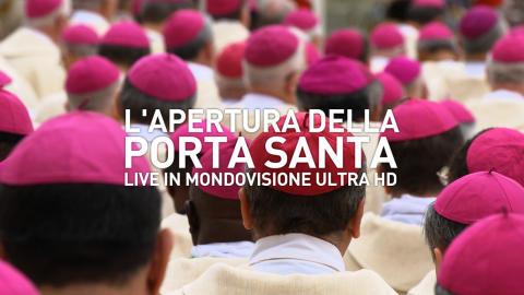 Tre satelliti per la prima diretta mondiale in Ultra HD in occasione della cerimonia di apertura della Porta Santa prodotta dal Centro Televisivo Vaticano