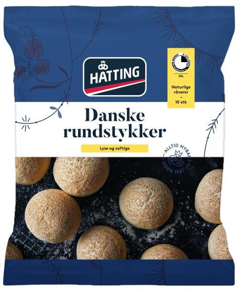 Hatting Danske rundstykker